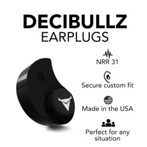 black decibullz earplugs