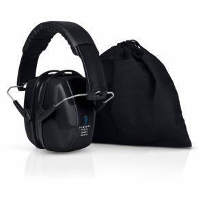 Black HearTek Eafmuffs with black bag