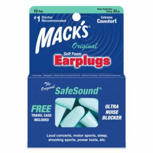 Mack's safesound earplugs