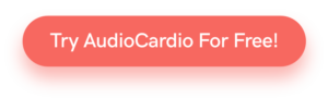 Try AudioCardio For Free button