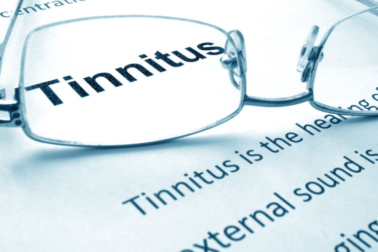 Tinnitus magnified by reading glasses