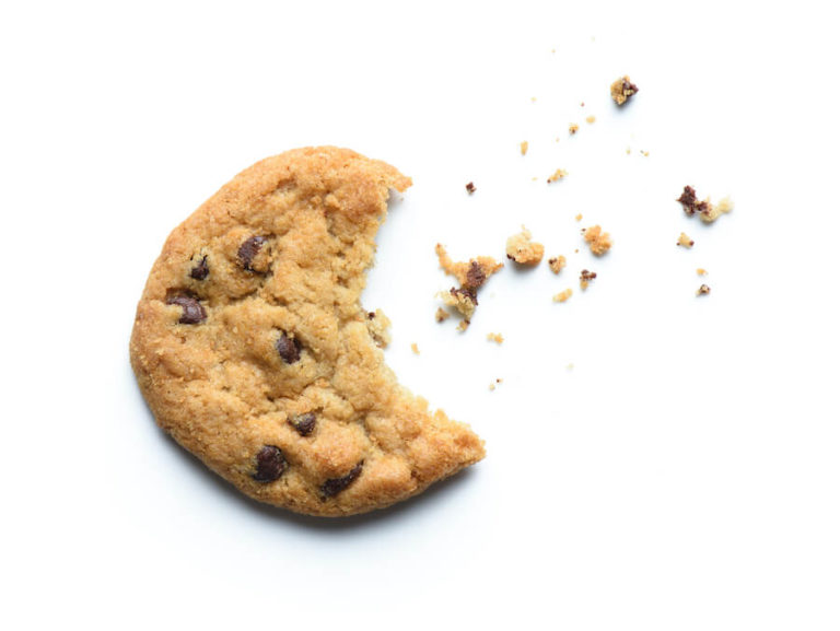 bitten cookie