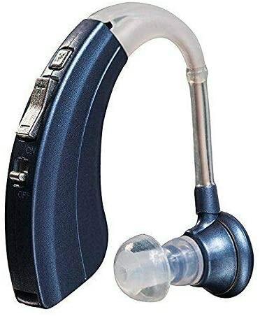 Modern Blue Digital Hearing Amplifier